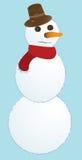 χιόνι ατόμων Στοκ εικόνες με δικαίωμα ελεύθερης χρήσης