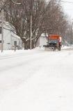χιόνι αφαίρεσης Στοκ Εικόνα