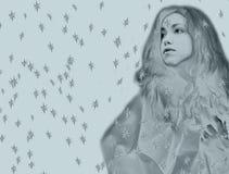 χιόνι βασίλισσας παραμυθιού Στοκ Εικόνες