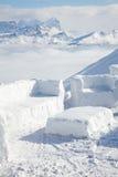 χιόνι βουνών καφέδων Στοκ εικόνες με δικαίωμα ελεύθερης χρήσης