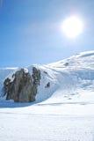 χιόνι βουνών Στοκ φωτογραφίες με δικαίωμα ελεύθερης χρήσης