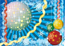 χιόνι γιορτών Χριστουγέννων απεικόνιση αποθεμάτων