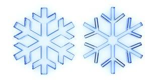 χιόνι εικονιδίων Στοκ φωτογραφία με δικαίωμα ελεύθερης χρήσης