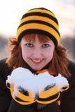 χιόνι εκμετάλλευσης κο& στοκ φωτογραφίες με δικαίωμα ελεύθερης χρήσης