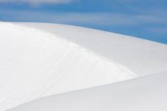 χιόνι επιπέδων Στοκ φωτογραφία με δικαίωμα ελεύθερης χρήσης