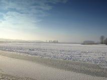 χιόνι ερήμων Στοκ Φωτογραφία