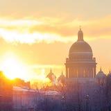 χιόνι καθεδρικών ναών Στοκ Εικόνες