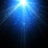Χιόνι και αστέρια ελεύθερη απεικόνιση δικαιώματος