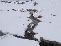 Χιόνι και πάγος Στοκ Εικόνες
