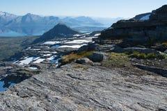 Χιόνι και τοπίο Στοκ Φωτογραφίες