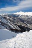 χιόνι κλίσεων στοκ εικόνα με δικαίωμα ελεύθερης χρήσης