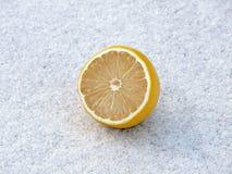 χιόνι λεμονιών Στοκ φωτογραφίες με δικαίωμα ελεύθερης χρήσης