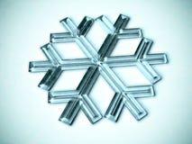 χιόνι νιφάδων Στοκ εικόνα με δικαίωμα ελεύθερης χρήσης