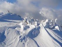 χιόνι οριζόντων Στοκ εικόνα με δικαίωμα ελεύθερης χρήσης