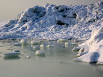 χιόνι πάγου Στοκ Φωτογραφία