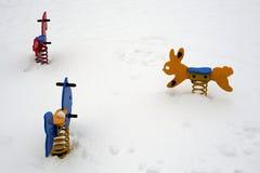 χιόνι πάρκων Στοκ φωτογραφίες με δικαίωμα ελεύθερης χρήσης