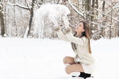 χιόνι παιχνιδιού στοκ εικόνες
