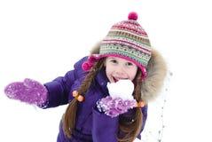χιόνι παιχνιδιού Στοκ Εικόνα
