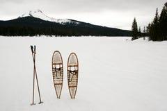 χιόνι παπουτσιών Στοκ Εικόνες