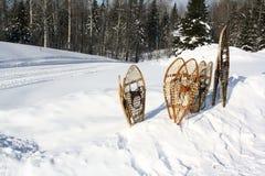 χιόνι παπουτσιών Στοκ φωτογραφίες με δικαίωμα ελεύθερης χρήσης