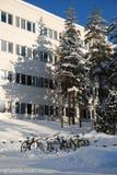 χιόνι ποδηλάτων Στοκ Εικόνα