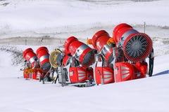 χιόνι πυροβόλων αχρησιμοποίητο Στοκ Εικόνες