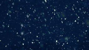 Χιόνι σε σε αργή κίνηση ελεύθερη απεικόνιση δικαιώματος