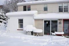 χιόνι σκηνής στοκ εικόνες με δικαίωμα ελεύθερης χρήσης