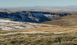 Χιόνι στα υψηλά βουνά ερήμων στο Όρεγκον στοκ φωτογραφίες με δικαίωμα ελεύθερης χρήσης