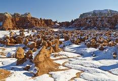 Χιόνι στην κοιλάδα Goblin Στοκ εικόνες με δικαίωμα ελεύθερης χρήσης