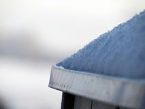 Χιόνι στη στέγη Στοκ φωτογραφίες με δικαίωμα ελεύθερης χρήσης