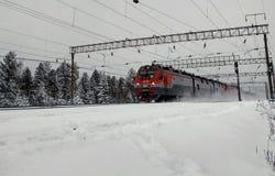 Χιόνι στις διαδρομές στοκ εικόνες με δικαίωμα ελεύθερης χρήσης