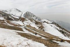 Χιόνι στο Ιράν στοκ εικόνες με δικαίωμα ελεύθερης χρήσης