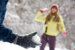 χιόνι σφαιρών Στοκ φωτογραφίες με δικαίωμα ελεύθερης χρήσης