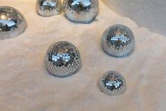 Χιόνι σφαιρών Disco Στοκ Εικόνα