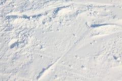 Χιόνι σύστασης Στοκ Εικόνες