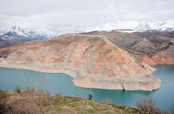 χιόνι Τασκένδη Ουζμπεκιστάν βουνών Στοκ φωτογραφία με δικαίωμα ελεύθερης χρήσης