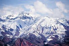 χιόνι Τασκένδη Ουζμπεκιστάν βουνών Στοκ Εικόνες