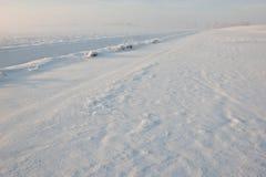 χιόνι τοπίων παραμυθιού Στοκ Εικόνα