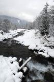 χιόνι τοπίων Στοκ φωτογραφίες με δικαίωμα ελεύθερης χρήσης