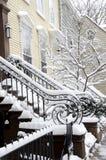 Χιόνι του Μπρούκλιν Στοκ φωτογραφίες με δικαίωμα ελεύθερης χρήσης
