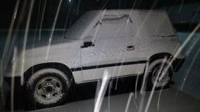 Χιόνι του πρώτου βραδιού Στοκ φωτογραφίες με δικαίωμα ελεύθερης χρήσης