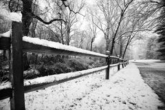 χιόνι φραγών Στοκ Εικόνες