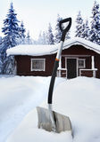 χιόνι φτυαριών Στοκ Φωτογραφία
