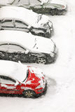 χιόνι χιονοθύελλας Στοκ εικόνα με δικαίωμα ελεύθερης χρήσης