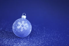 χιόνι Χριστουγέννων μπιχλι στοκ φωτογραφία με δικαίωμα ελεύθερης χρήσης