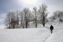 χιόνι 12 Στοκ Φωτογραφία