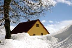 χιόνι 14 Στοκ Φωτογραφία