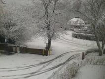 Χιόνι; Στοκ Φωτογραφίες