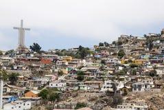 Χιλή - άποψη Coquimbo στοκ εικόνες